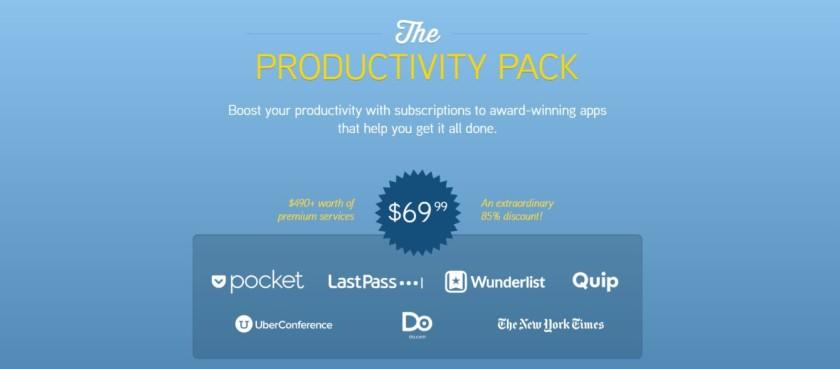productivity pack