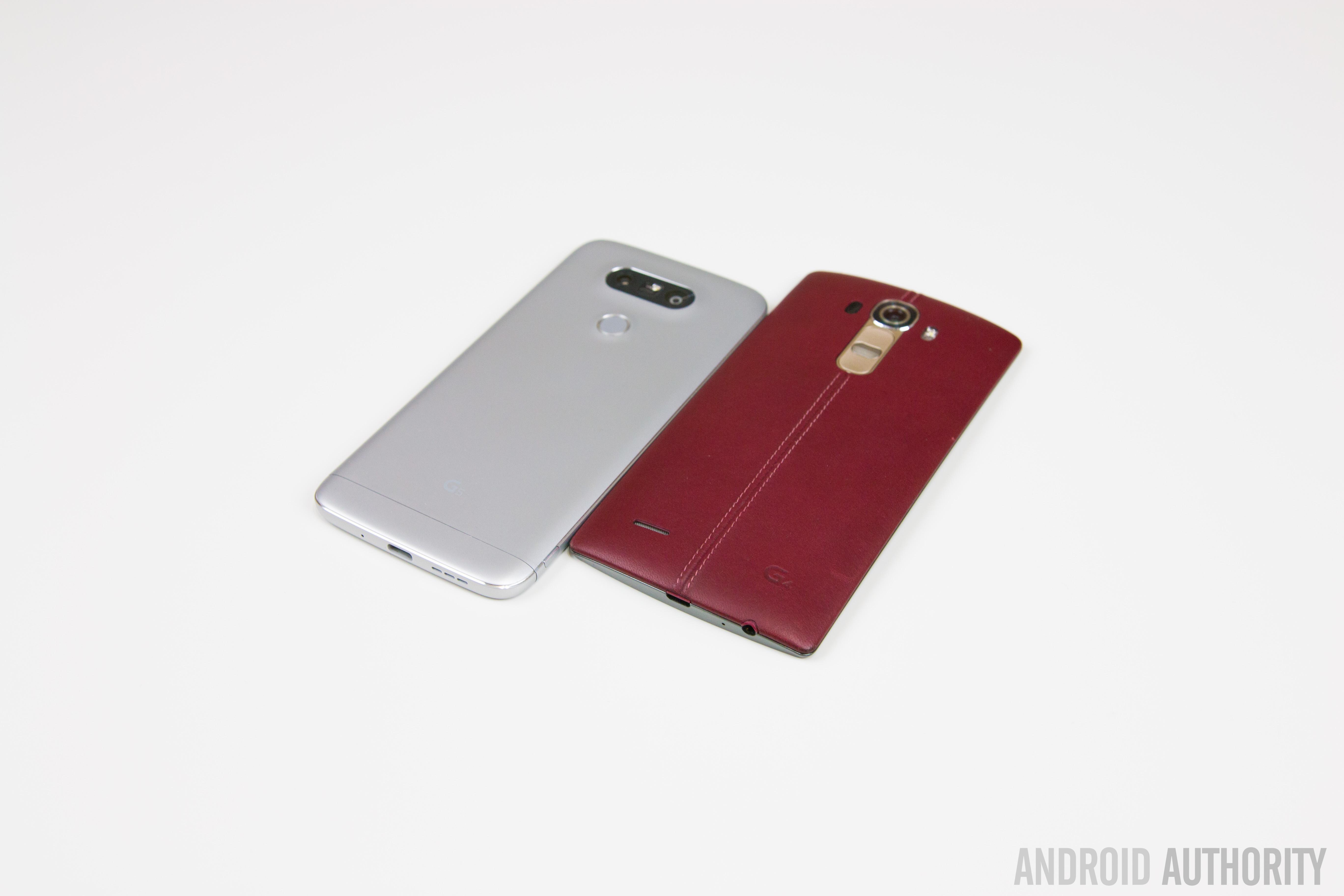 LG G5 VS LG G4-6