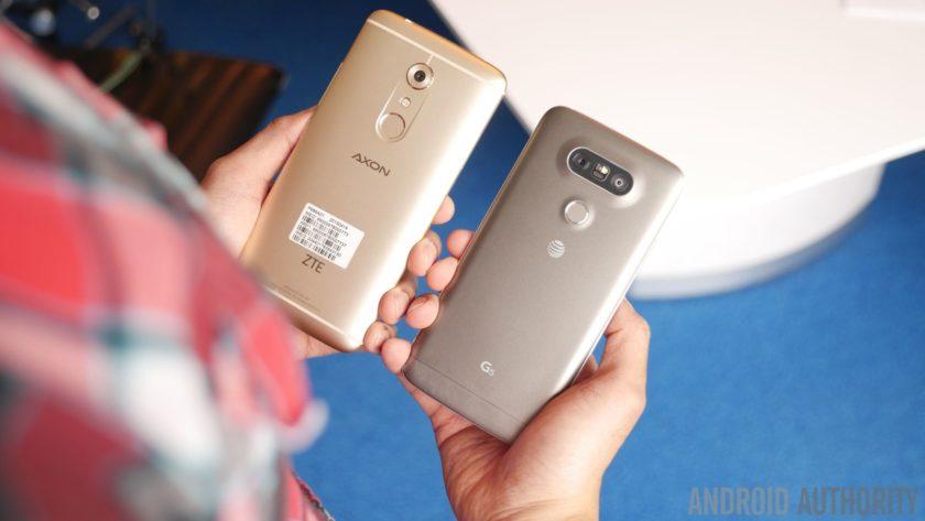 ZTE Axon 7 vs LG G5 139