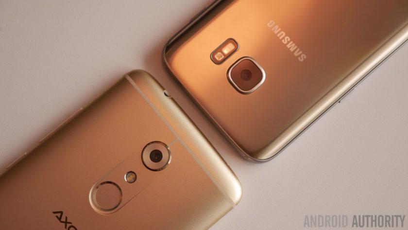 ZTE Axon 7 vs Samsung Galaxy S7 125