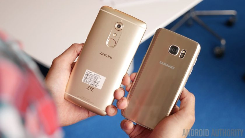 have petition zte axon 7 vs samsung galaxy s7 edge all