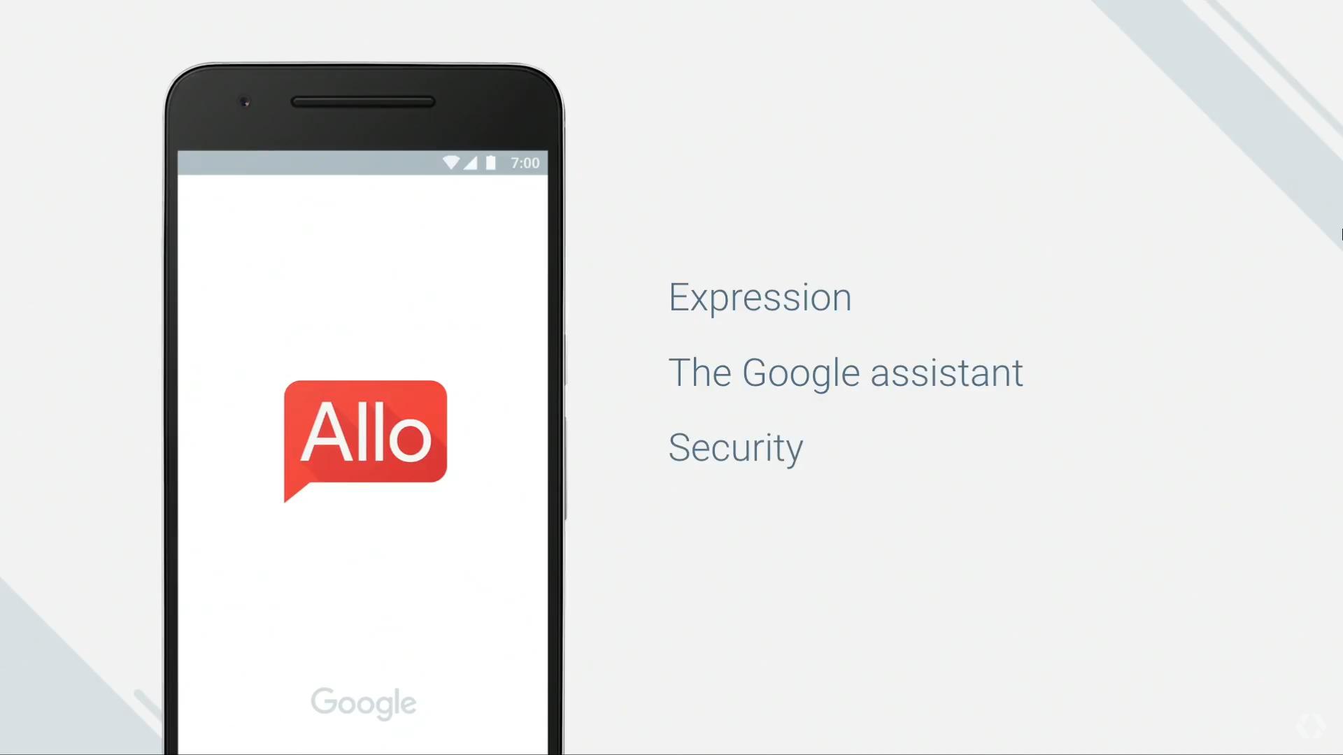 allo-Google IO 2016