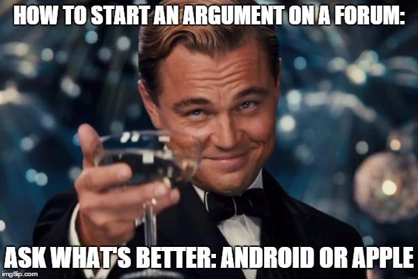 Iphone Vs Samsung Meme