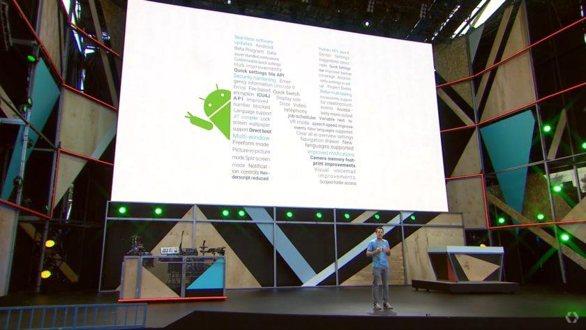 android n-Google IO 2016