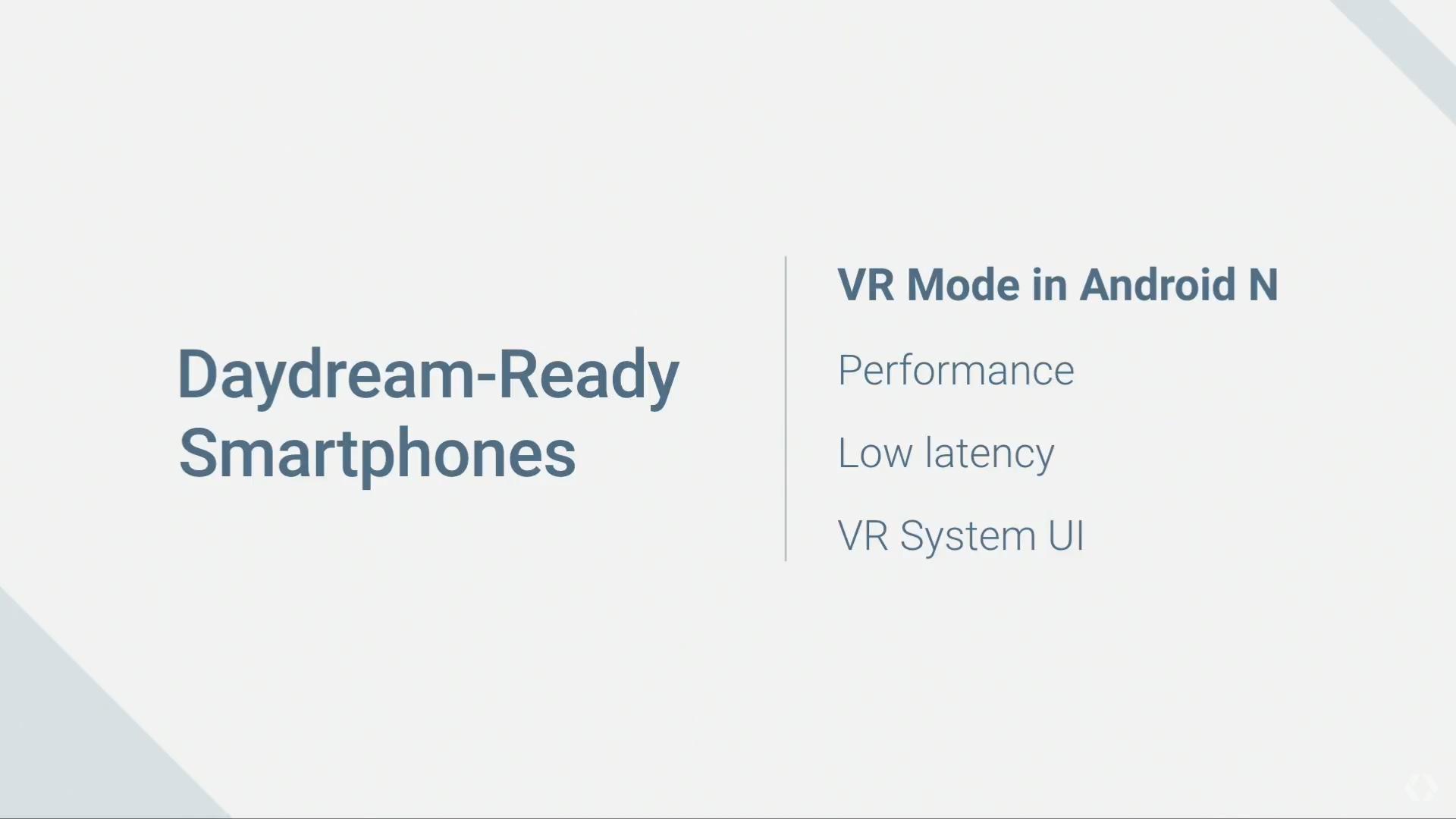 daydream vr mode 1-Google IO 2016