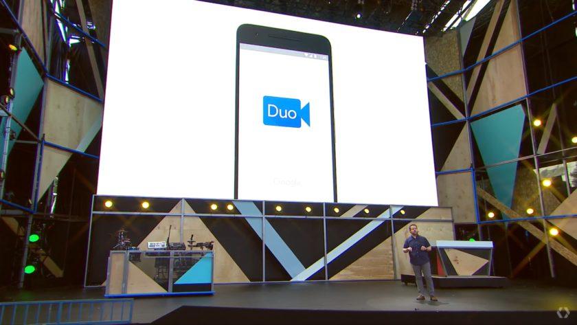 duo-Google IO 2016