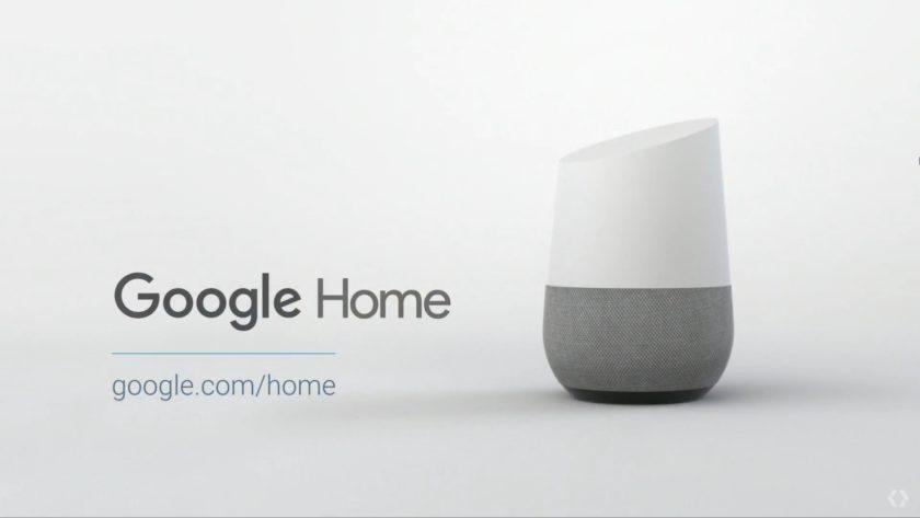 google home-Google IO 2016