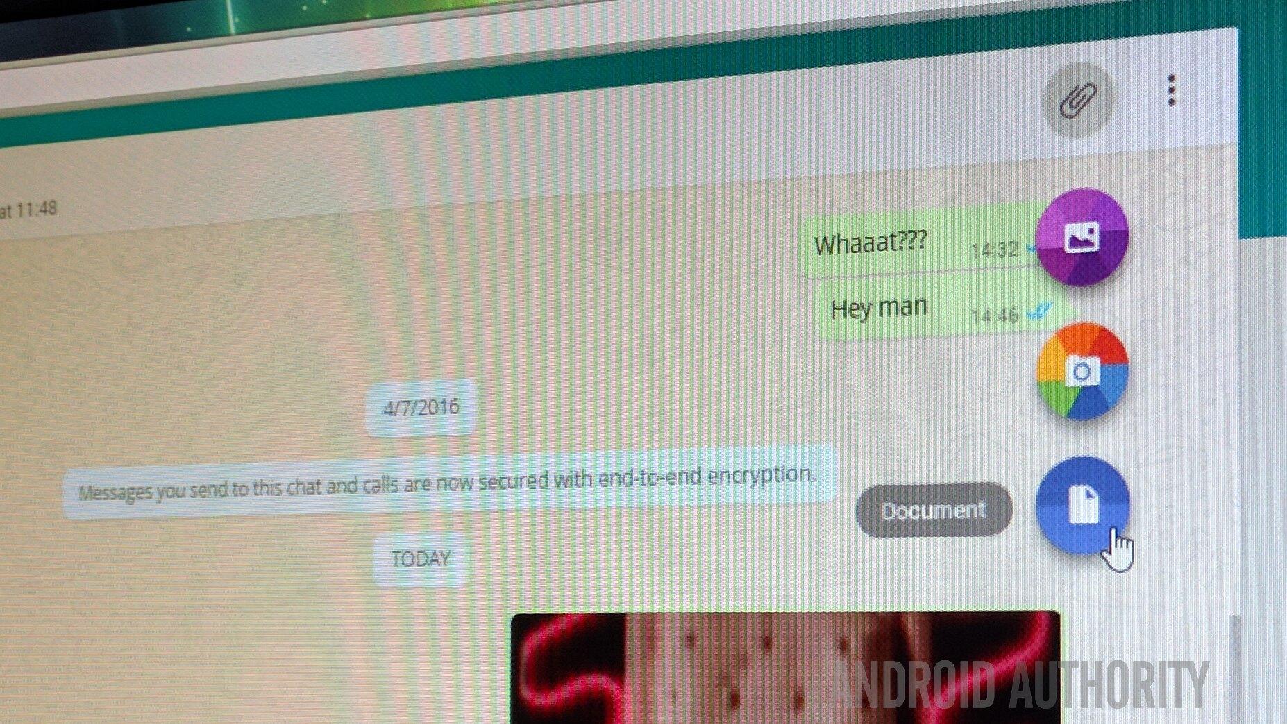 whatsapp web documents