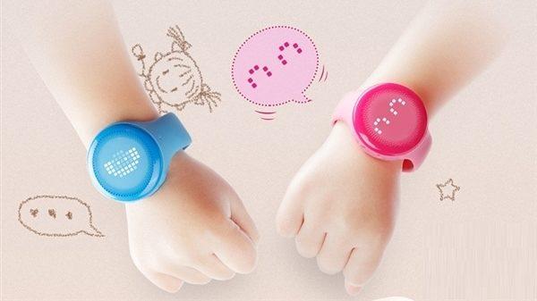 xiaomi m bunny child smartwatch arms