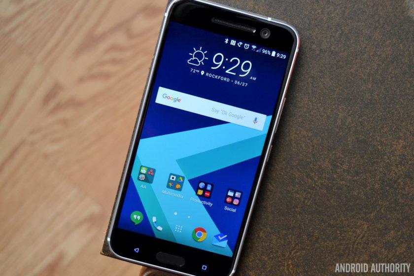 HTC 10 UI
