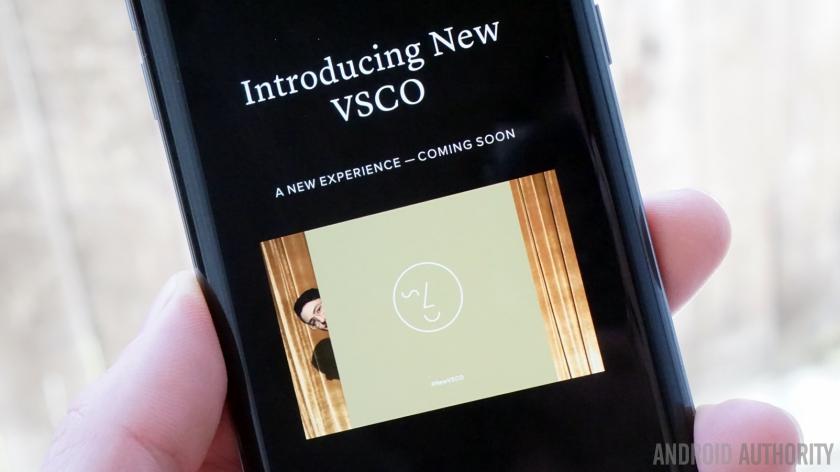 New VSCO cam app