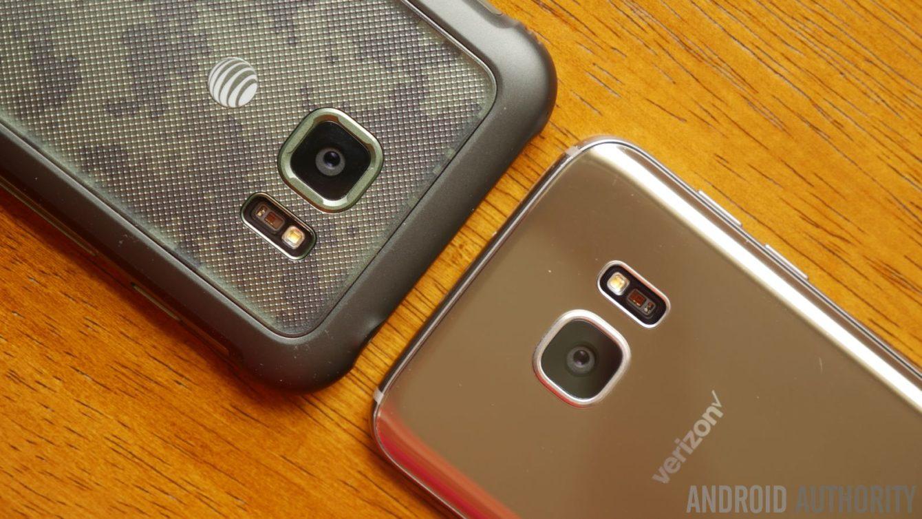 Samsung Galaxy S7 Active vs Samsung Galaxy S7 202