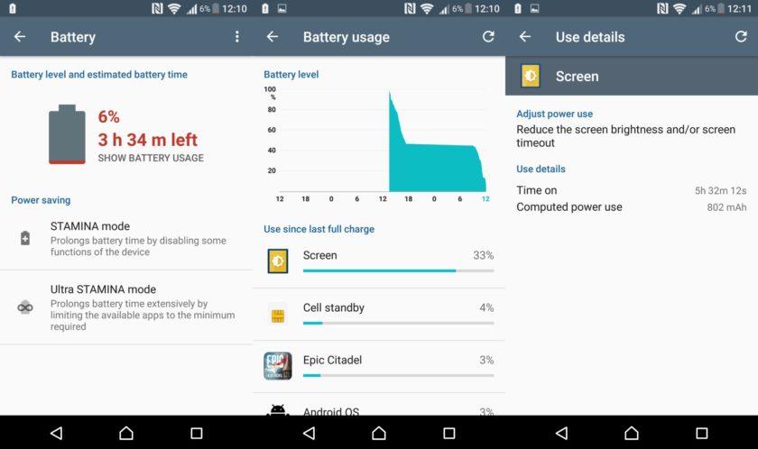 Sony-Xperia-X-battery