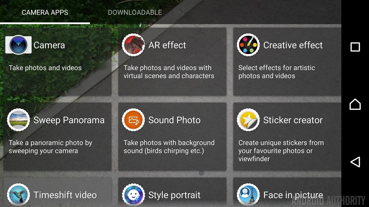 Sony-Xperia-X-camera-modes