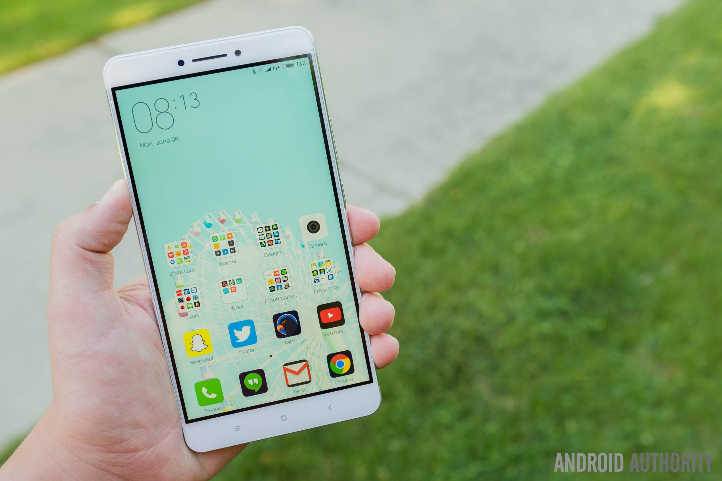 The Xiaomi Mi Max.