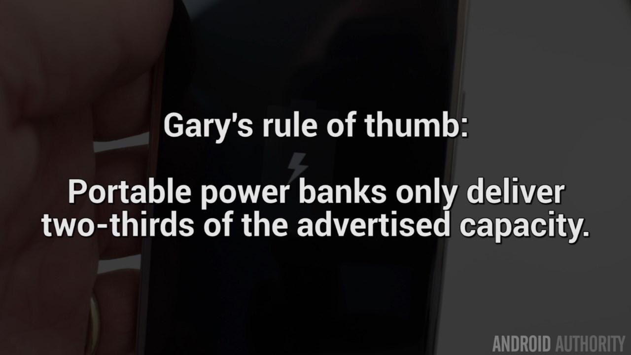 portable power banks-garys-rule-of-thumb