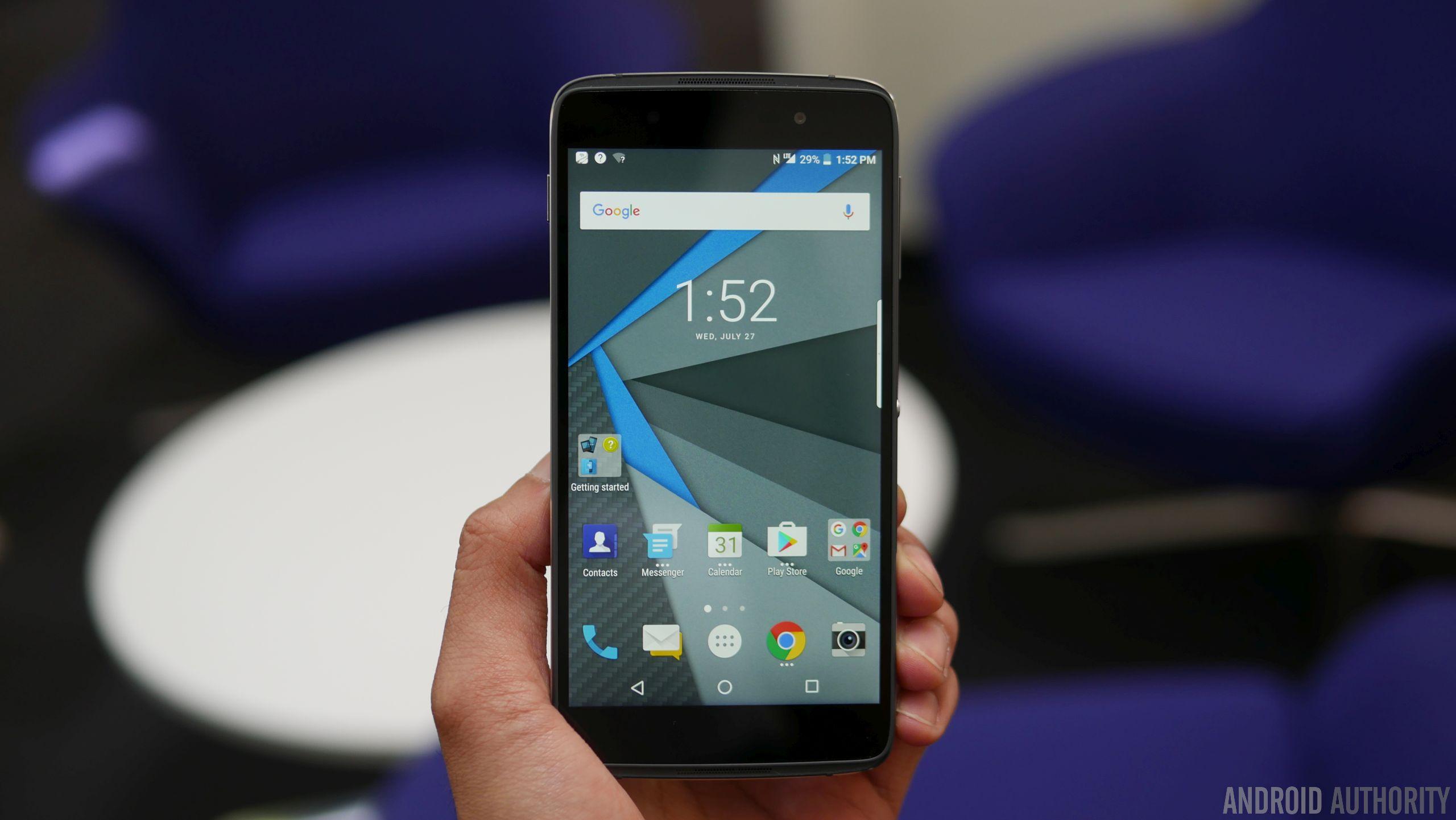 BlackBerry DTEK50 hands on 7
