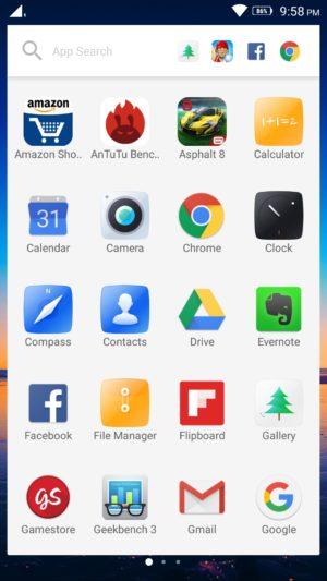 Lenovo K4 Note screenshot - software-2