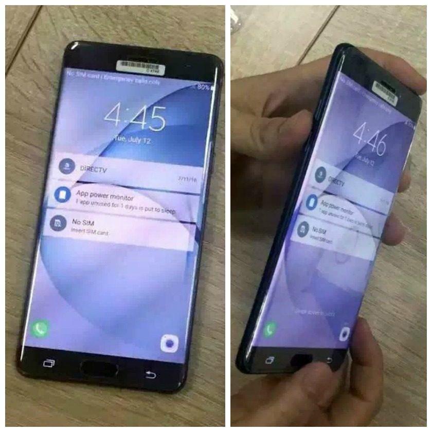 Samsung Galaxy Note 7 Weibo leaks 1