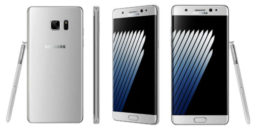 Samsung Galaxy Note 7 - silver