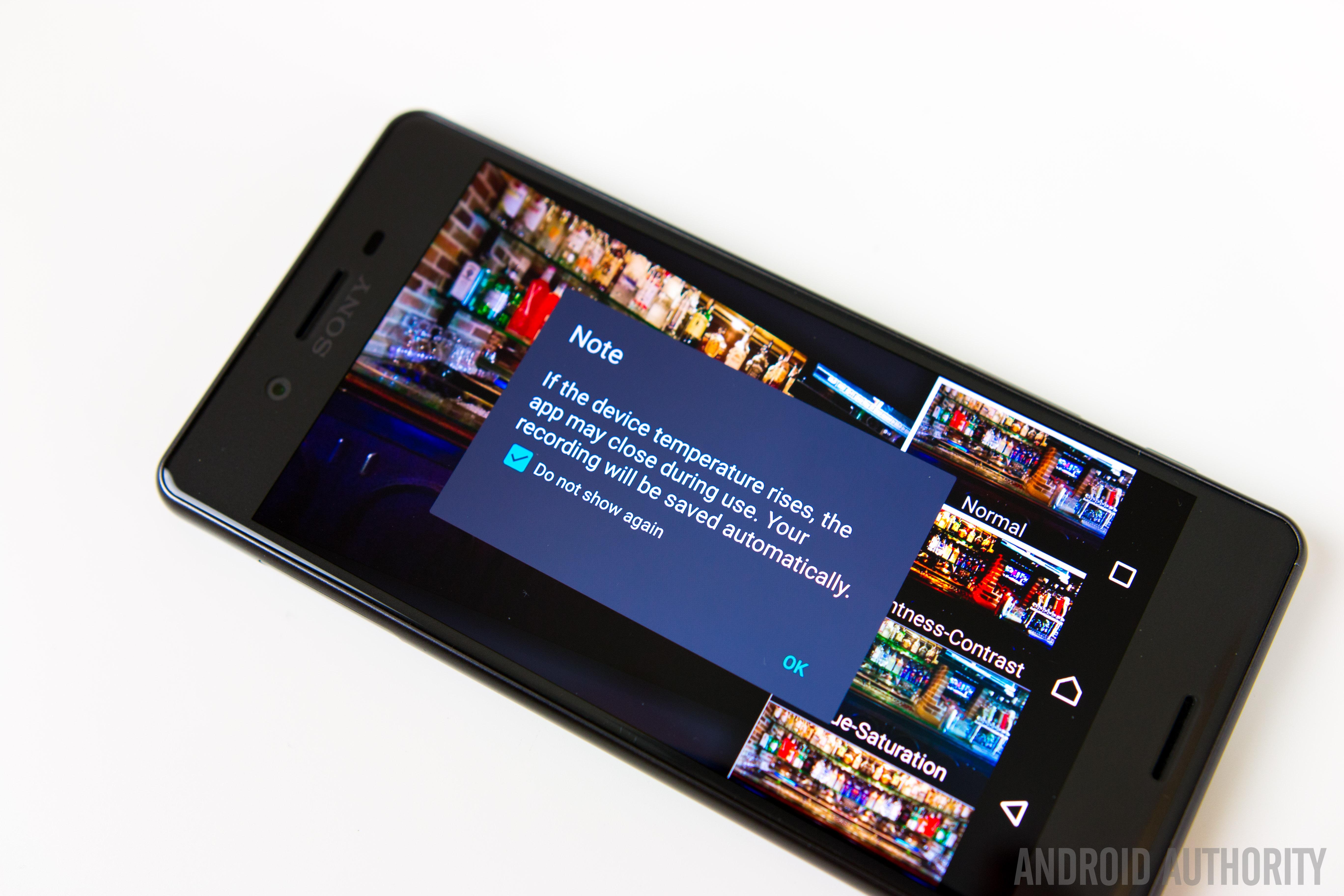 Sony Xperia X Performance Feature Focus screenshots-6