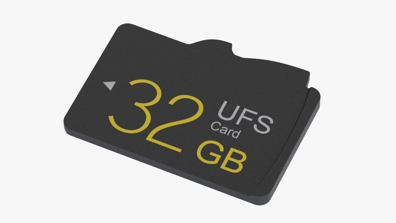 UFS Memory Card