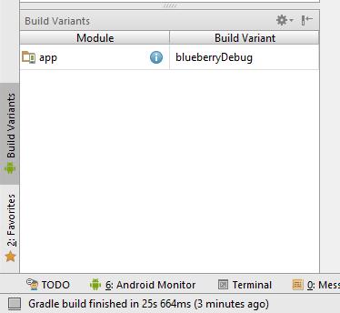 Build Variants