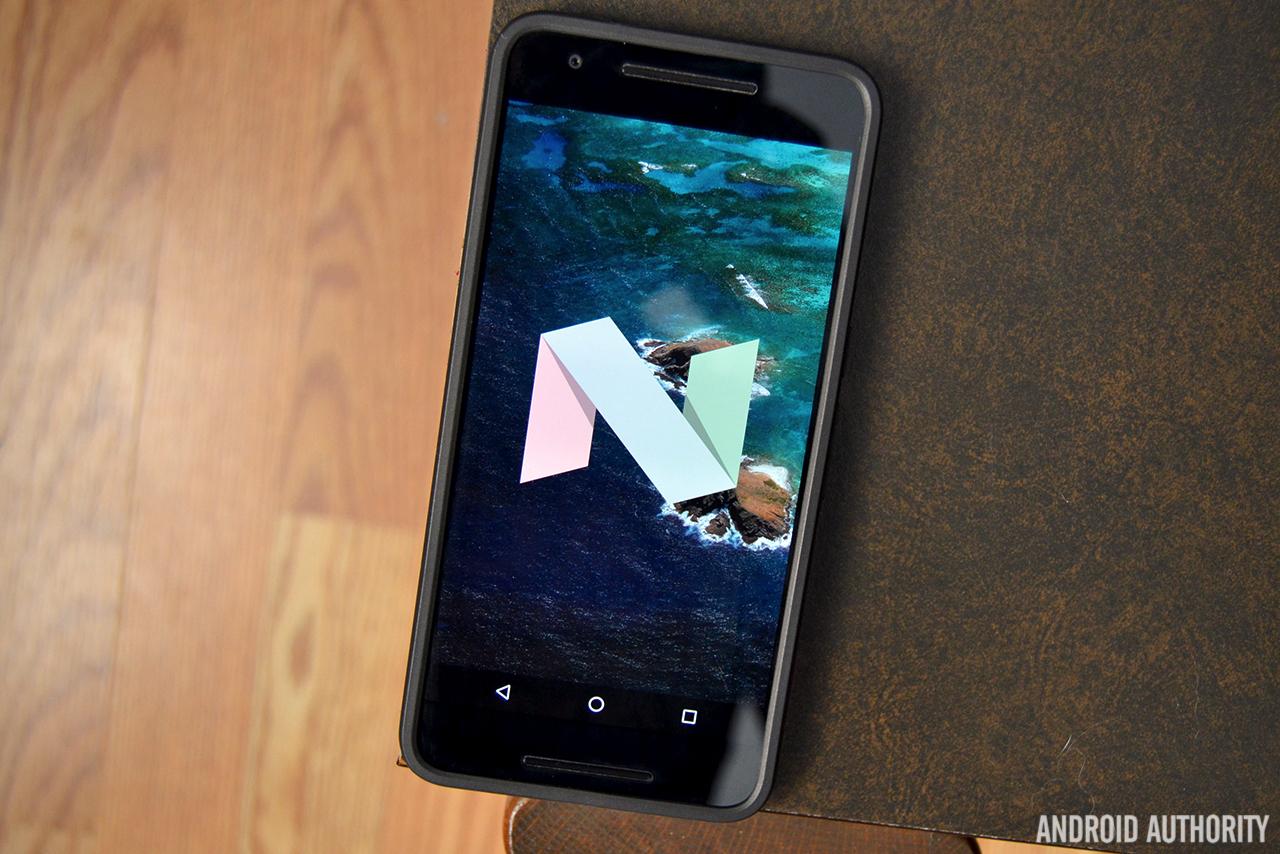 Android 7.0 Nougat logo AA 2