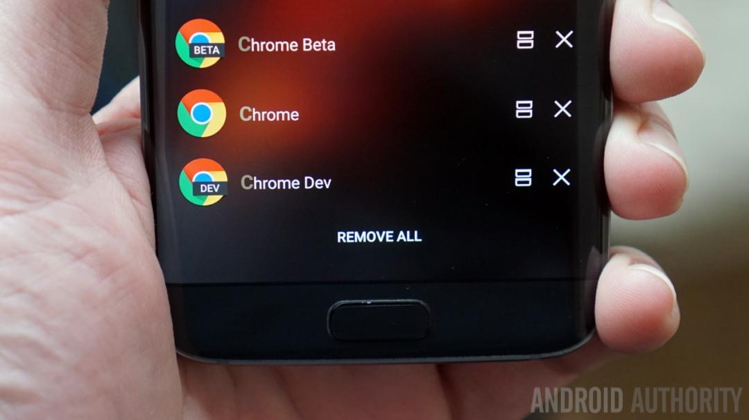 Chrome Beta, Chrome Dev and Chrome