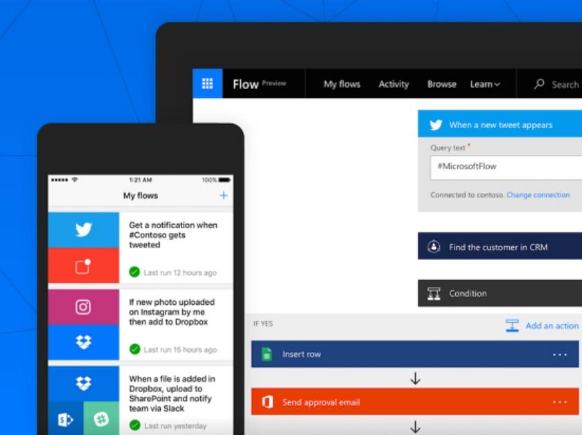 Microsoft Flow teaser