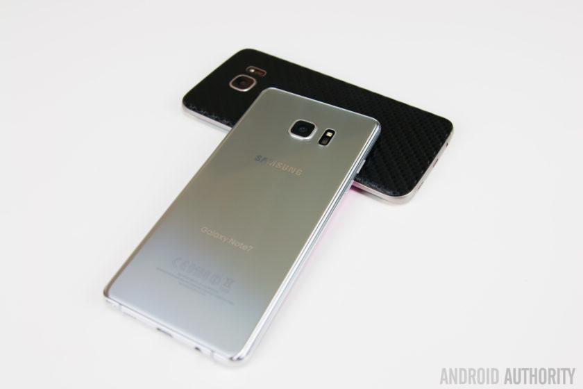 Samsung Galaxy Note7 versus Samsung Galaxy S7 Edge-7