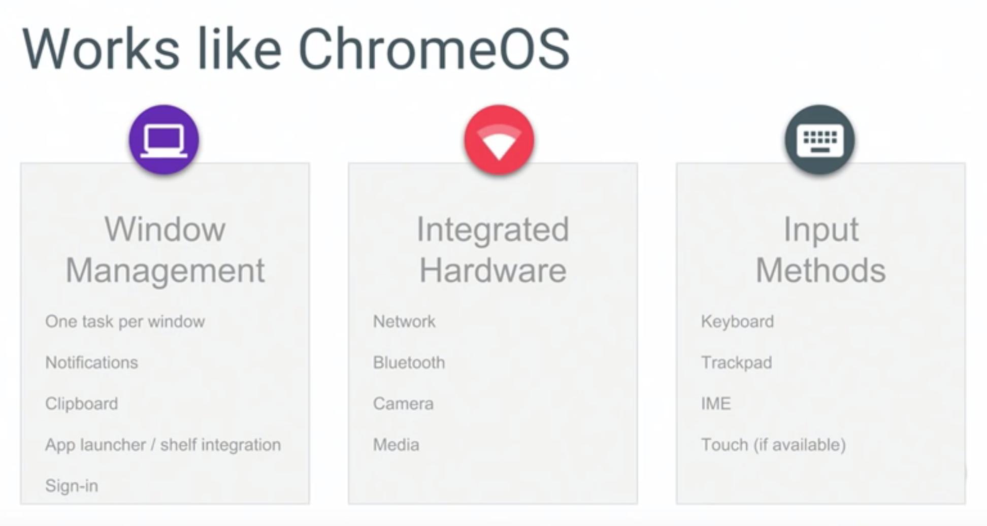 Works Like Chrome