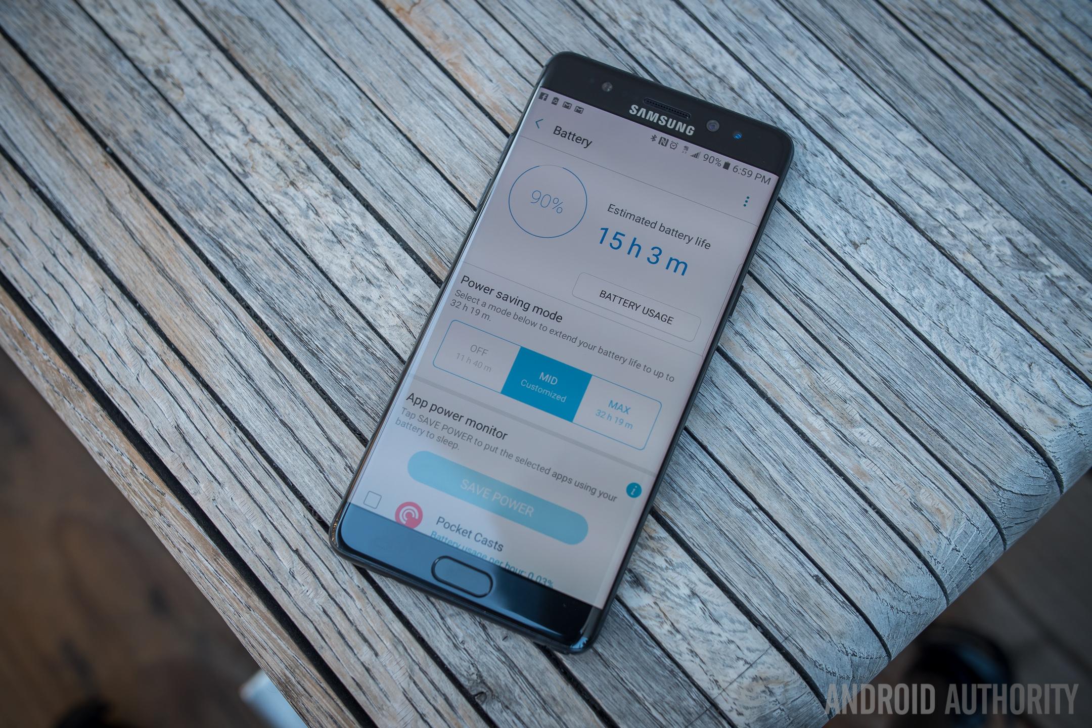 Samsung Note 8 Phone Spy