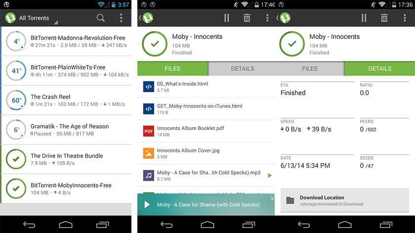 utorrent best torrent apps for android