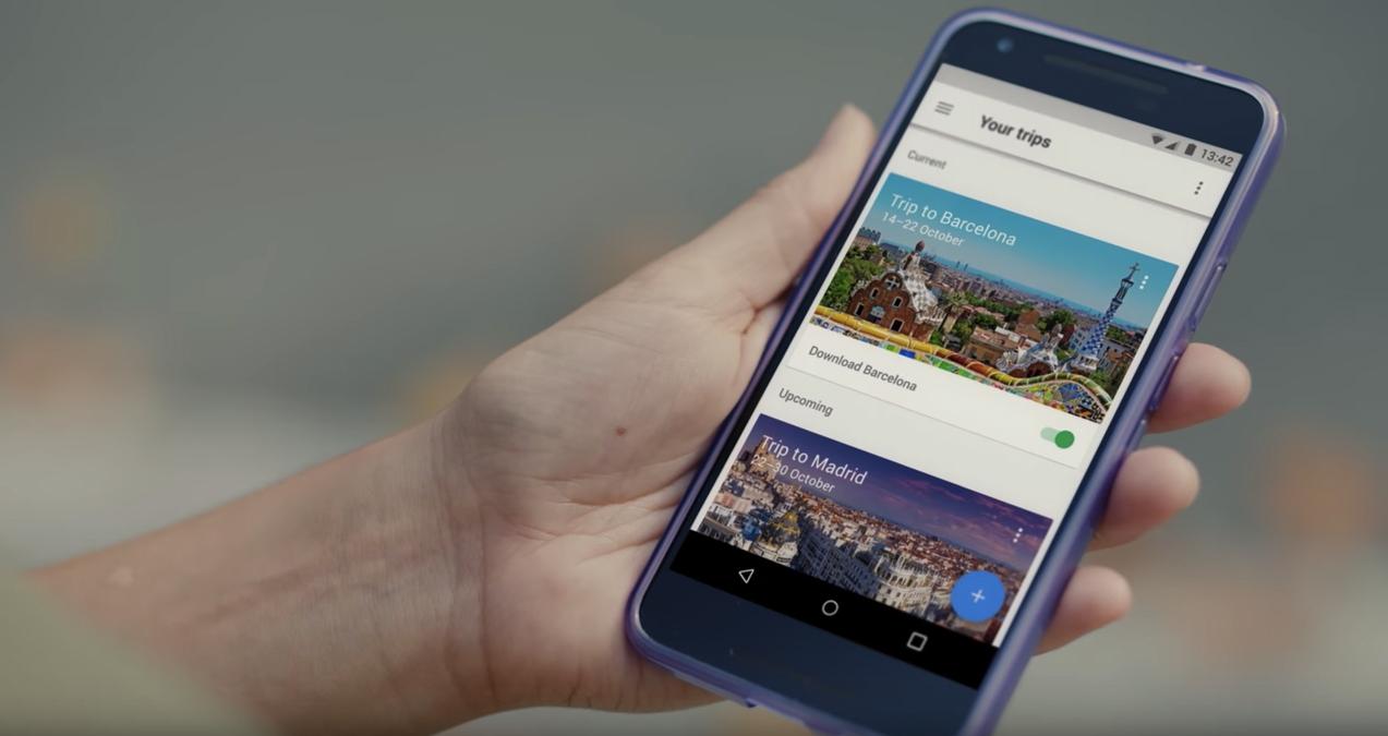 Google Trips App AA