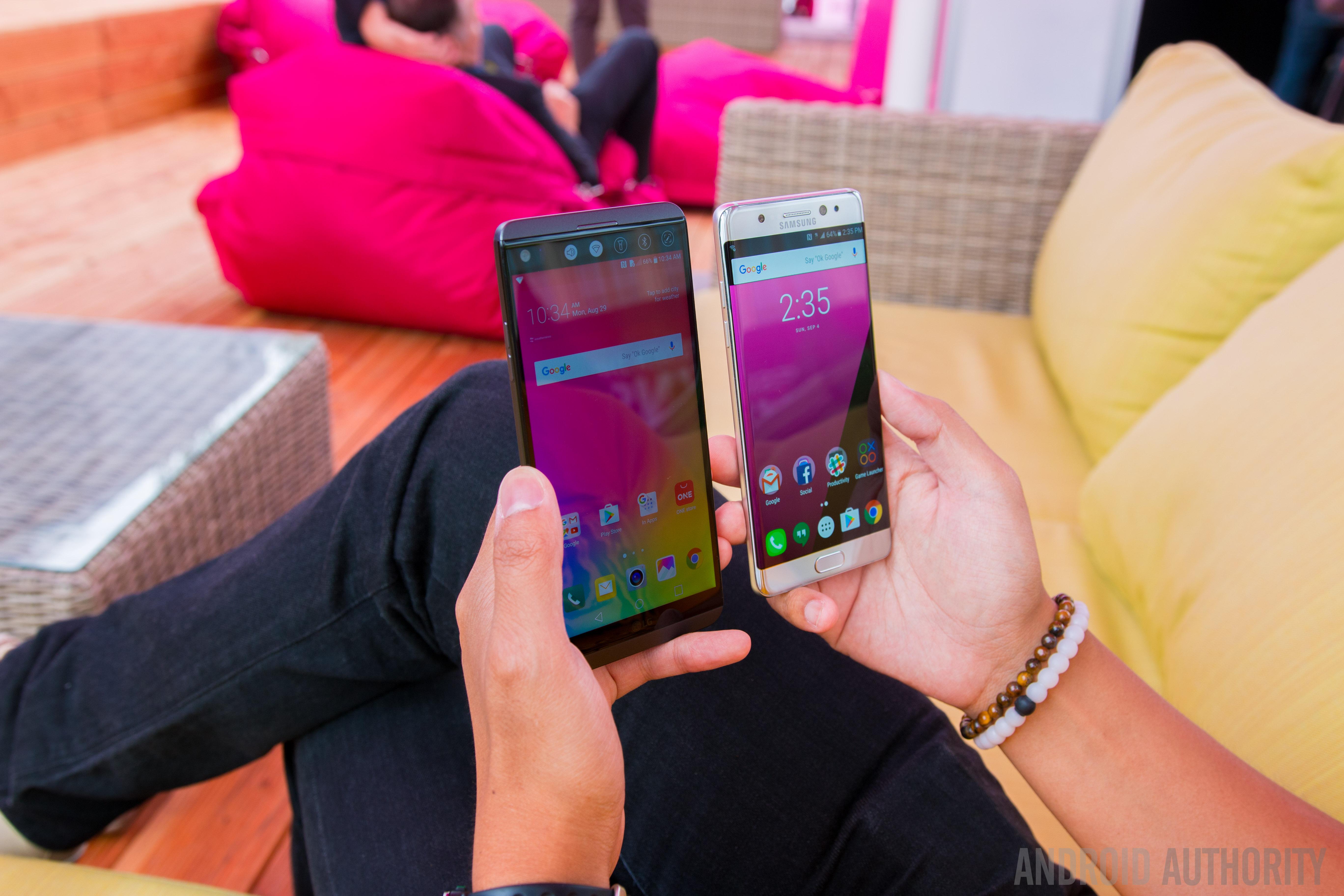 LG V20 vs Samsung Galaxy Note7 Quick Look-3