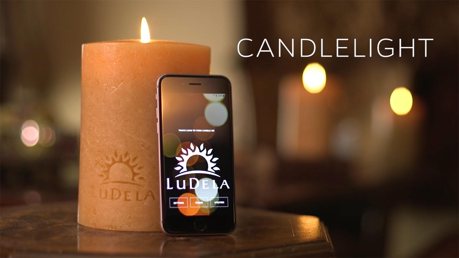 a smart candle really. Black Bedroom Furniture Sets. Home Design Ideas