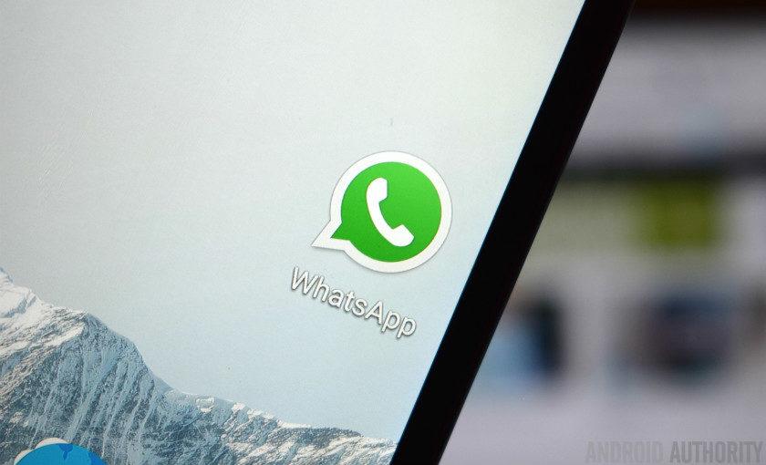 WhatsApp update: