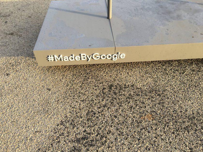 google pixel statue madebygoogle