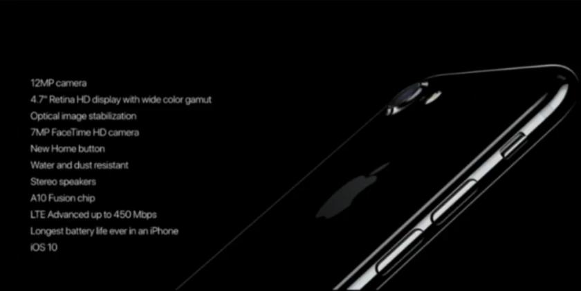 iPhone 7 specs