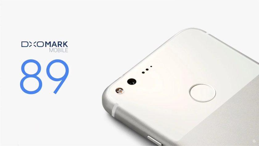 dxomark rating pixel-Google 2016
