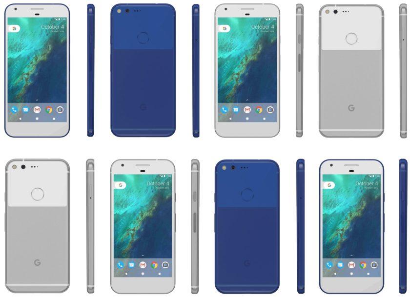 Pixel and Pixel XL leak again: blue version, pricing info