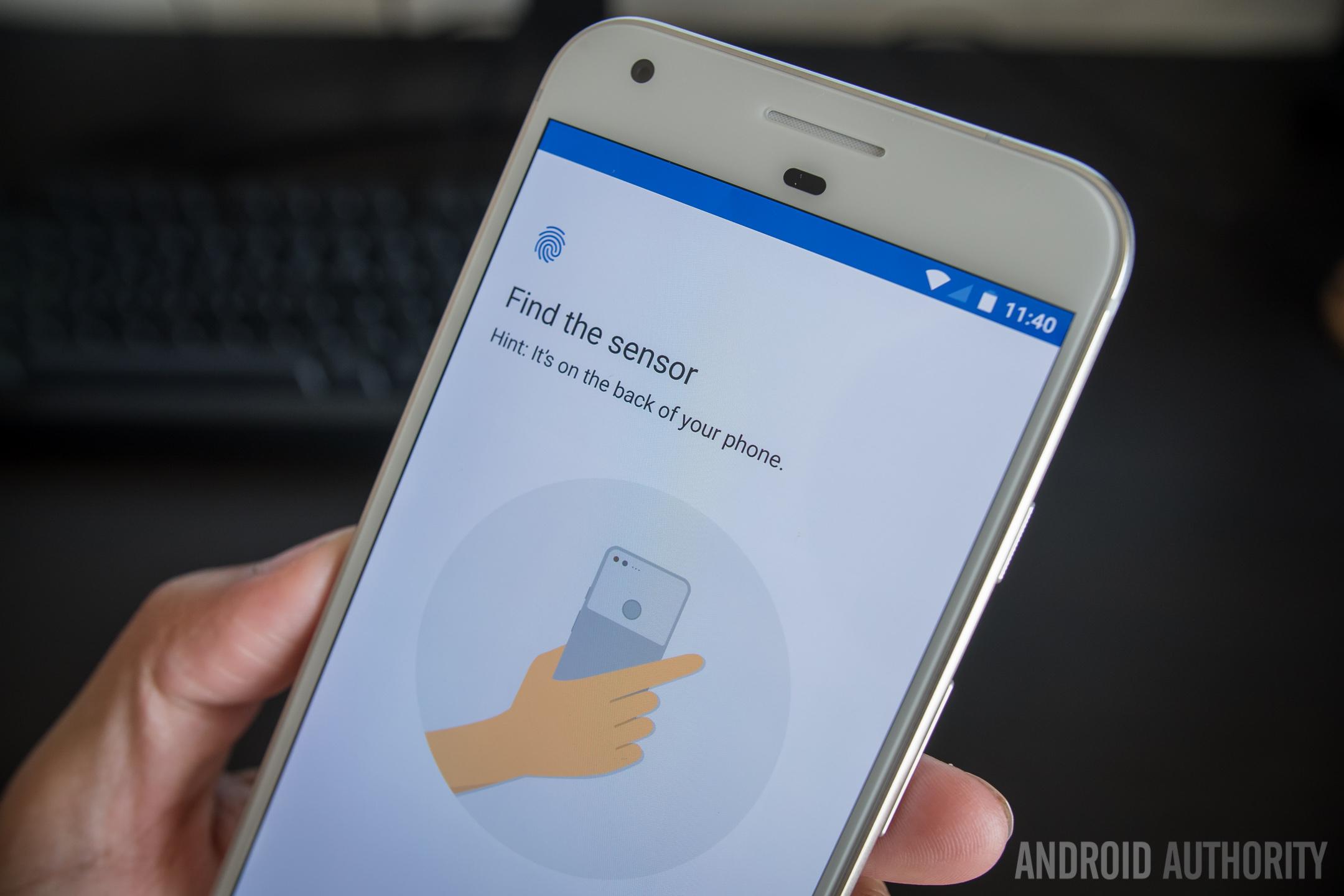 google pixel xl initial review aa (3 of 48) fingerprint nexus imprint