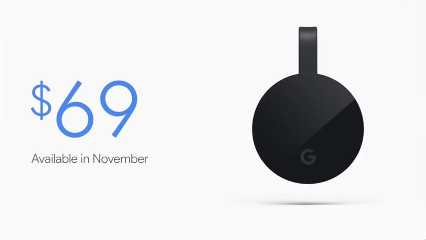 mario queiroz chromecast ultra availability price -Google 2016