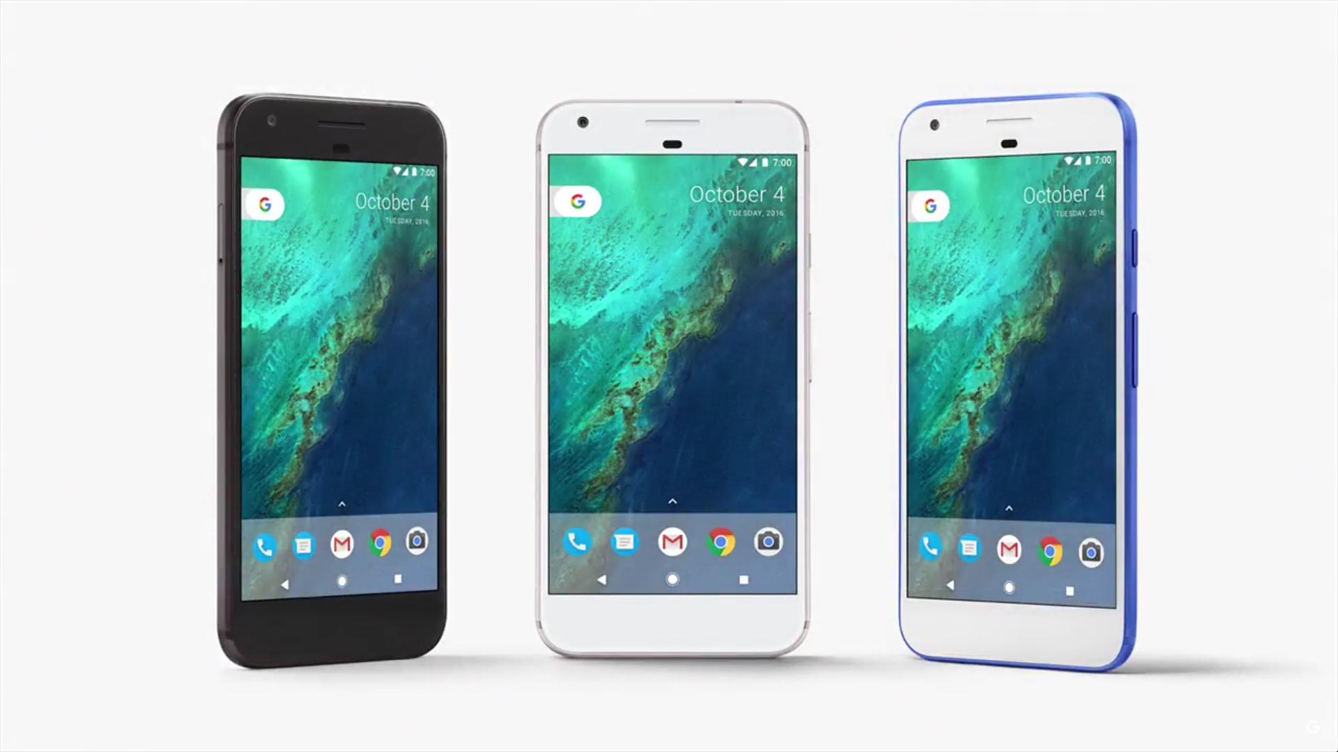 pixel colors -Google 2016