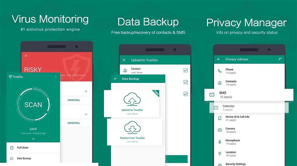 trustgo best antivirus and antimalware apps for android