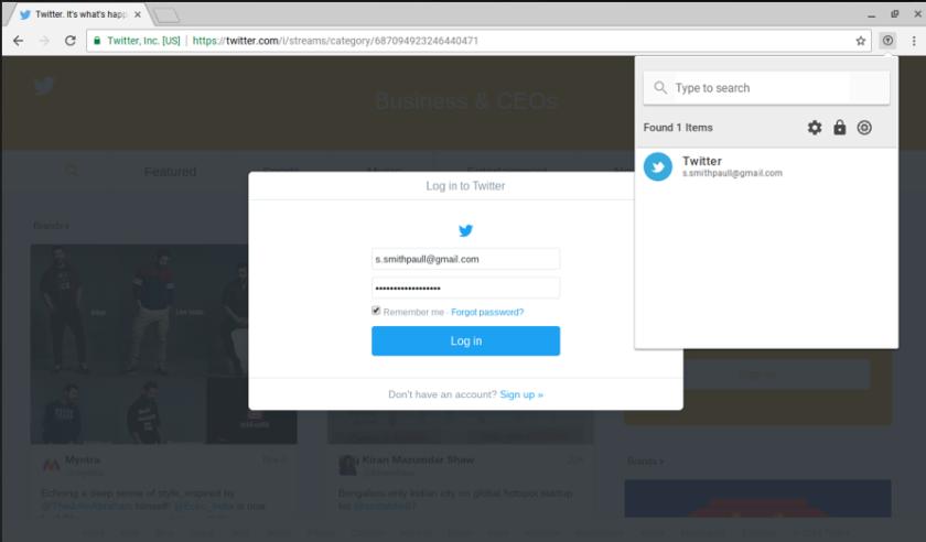Enpass Chrome