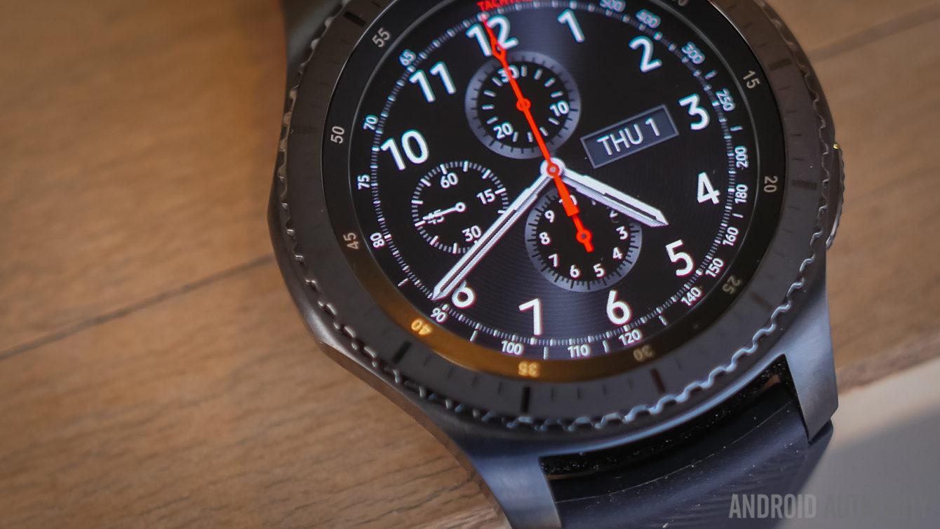 Samsung Gear S3 review - evolution of a smartwatch