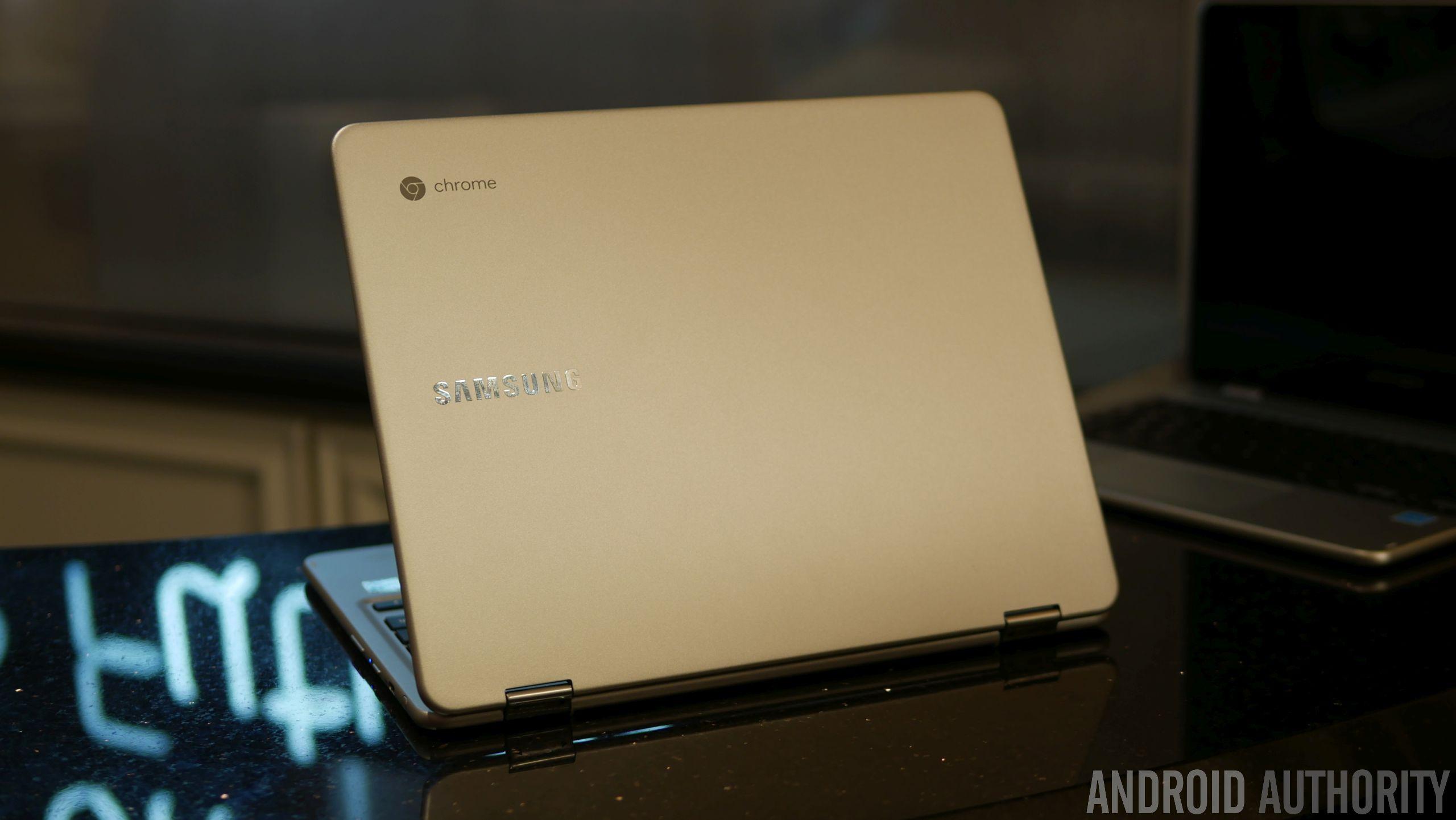 A Samsung Chromebook.
