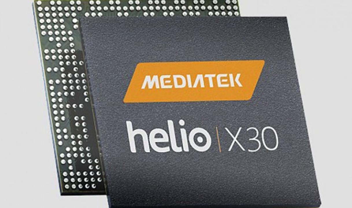 Helio X30 chipset.